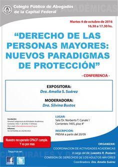 Argentina .Interesante conferencia sobre Derechos de las personas mayores   Central Informativa del Adulto Mayor