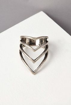 Pointed Cutout Ring | Forever 21 - 1000142187