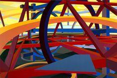 By Al Held (1928-2005)