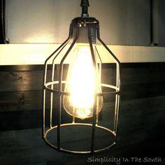 Restoration Hardware inspired pendant light