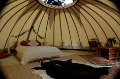 Bridal suite tent hired out to your venue for wedding night complete with luxury furnishings, champagne & chocs. Oh I want this SO much!!!! Welcome to FM Tents: Tipi, Bedouin & Yurt tent hire - www.funkymonkeytents.co.uk