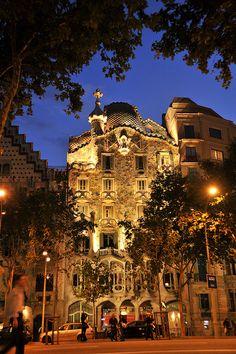 Casa Batlló- Barcelona, Spain