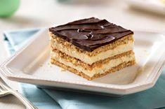 Easy Peanut-Butter & Chocolate Eclair Dessert