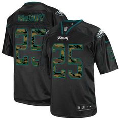 5b1fe9b21 Nike LeSean McCoy Men s Elite Black Philadelphia Eagles 2014 Jersey - NFL   25 Camo Fashion