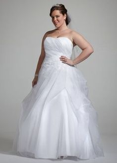David's Bridal 1301-2471 Wedding Dress $170
