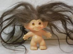 My black haired troll had less than this and was made from a piece of animal fur!