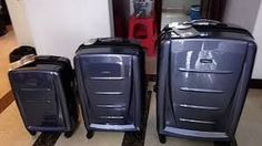 Product Specifications Fabricated from 100% polycarbonate, the traveling bag is very light-weight once empty, while not compromising on strength and sturdiness. Airlines have become progressively stricter with size and weight restrictions on cabin baggage.