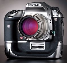 Pentax K20D Limited Titanium Edition - I would love to own one of these someday. Even if it isn't the Limited Titanium Edition.