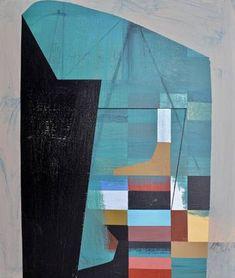 Original Abstract Painting by Jim Harris Long Painting, Japan Painting, Blue Painting, Name Paintings, Original Paintings, Geometric Painting, Abstract Art, Acrylic Material, New Art