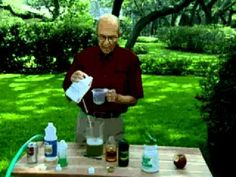 Jerry Baker's Year Round Lawn Care Summer Regular Feedings:: Beer, Pop, Dish soap, etc.