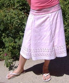 I love making skirts.  Here's directions on how , easily adjustable to your size/preferences.  Also, this is great because it uses a tshirt for the waistband, so you don't need to sew a zipper.