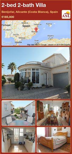 2-bed 2-bath Villa in Benijofar, Alicante (Costa Blanca), Spain ►€185,000 #PropertyForSaleInSpain