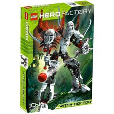 LEGO Hero Factory 2283: Witch Doctor LEGO http://www.amazon.co.uk/dp/B004OT4T3C/ref=cm_sw_r_pi_dp_k9kgwb15HGYC7