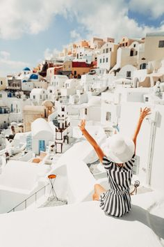 📍Santorini, Greece Wanderlust bucket list of places to travel and a visit on a vacation trip.Places to visit in Europe. Oh The Places You'll Go, Places To Travel, Travel Destinations, Places To Visit, Adventure Awaits, Adventure Travel, Voyage Rome, Greece Travel, Santorini Travel