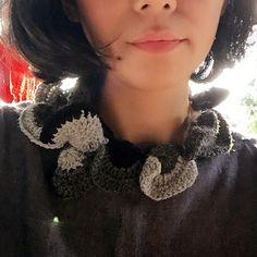 Necklace #necklace #crochet #knitting #handmade