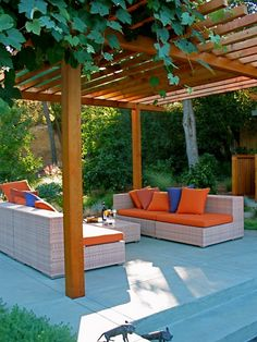Modern Pergola Design, for beside pool area.