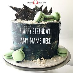 simple first birthday Simple First Birthday, Happy Birthday Cake Images, Cake Name, Wishes Images, First Birthdays, Names, Create, Captions, Cake Ideas