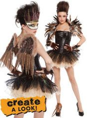 Be captivating! Create your own YOU-nique costume with mix & match pieces like masks, wings, gloves, tutus and bustiers from our fantasy collections like Night Owl, Woodland Fairy and many more. #BeACharacter