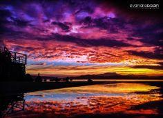 Bom Abrigo sunset - Brazil