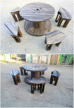 The Best and Easiest DIY Ideas with Recycled Wood Pallets: Let's give your dream home the feel of reality by showing you out with some of the mesmerizing and charming ideas of the old shipping wooden pallets. Wooden Pallet Furniture, Pallet Beds, Wooden Pallets, Wooden Diy, Pallet Crafts, Pallet Projects, Pallet Tool, Headboard Shapes, Pallet Designs