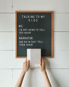 The most versatile and minimalist decoration for your home - felt letter board. Totally in love with and all of the fun boards they create! Inspirational and funny letter board quotes. The Letter Tribe Mom Quotes, Quotes To Live By, Funny Quotes, Life Quotes, Funny Memes, Hilarious, Mama Bear Quotes, Parent Quotes, Word Board
