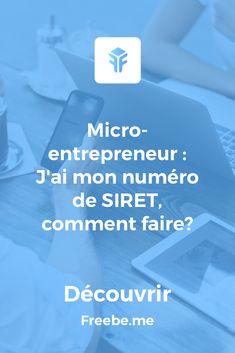 Siret, Micro Entrepreneur, Business Planning, Entrepreneurship, Business Women, Social Media, How To Plan, Woman, Simple