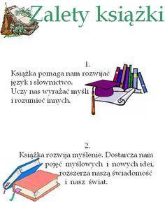Zalety książki Motto, Children, Kids, Haha, Infographic, Education, Reading, School, Books