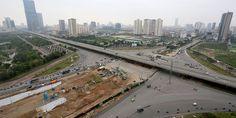 Hầm chui Thanh Xuân, nút giao thông 4 tầng đầu tiên tại HN | canhogoldseason.net