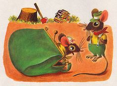Mouse's House - illustrated by Richard Scarry