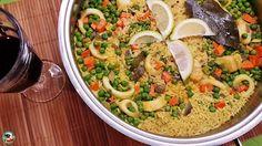 arroz con calamares:  Comer un arroz así de bueno y rico, no te saldrá ni muy caro, ni tampoco te dará muchos problemas.