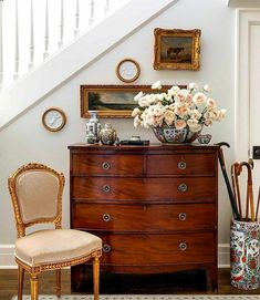 Designer to Watch: August Taylor Design - Sophisticated Style Antique Interior, Antique Decor, Decoration Chic, Interior Desing, My New Room, Traditional House, Modern Traditional Decor, Home Decor Inspiration, Living Spaces
