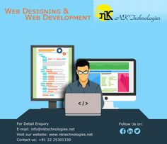 NK Technologies is a professional Web Designing And Development Company provides affordable and personalized Web Services from India. We give power to your online business. The right design kindles in a website visitor the right perception of your business.
