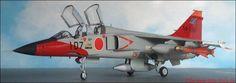 Flugzeugmodell in 1:72, Japan - Mitsubishi T-2 Trainer (Hasegawa 705)