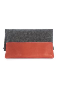 Indiesew.com | Leather Accent Pouch sewing pattern by LBG Studio - $8.00