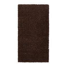 """IKEA - ALHEDE, Rug, high pile, 2 ' 7 """"x4 ' 11 """", , The dense, thick pile dampens sound and provides a soft surface to walk on.Durable, stain resistant and easy to care for since the rug is made of synthetic fibers.The high pile makes it easy to join several rugs, without a visible seam."""