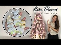 🐶 Erica Ferrari Porcelana Fría | Adornos de Navidad | Clase Gratis | DIY | Tutorial Fácil - YouTube Clay Projects, Clay Crafts, Ferrari, Diy Paso A Paso, Biscuit, Cute Clay, Pasta Flexible, Clay Tutorials, Cold Porcelain