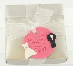 Sculpey III Wedding Favor Tag