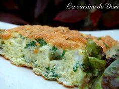 Recette Plat : Omelette gonflée aux herbes aromatiques par La cuisine de Doria