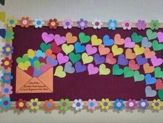 Visual result of middle school classroom board samples - Valentinstag ideen Classroom Board, Middle School Classroom, Classroom Displays, Classroom Decor, Valentines Day Bulletin Board, Birthday Bulletin, February Bulletin Board Ideas, School Decorations, Valentine Decorations