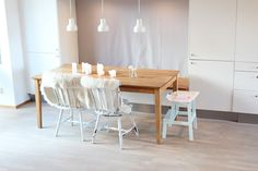 my scandinavian home: My dining room: touch of spring