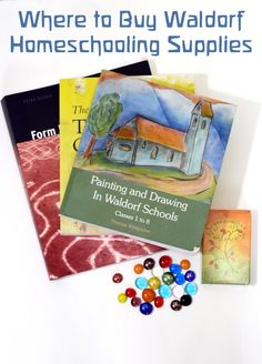 Waldorf homeschooling supplies aren't always easy to find. So every year, I share a list of places where you can find Waldorf materials for your homeschool.