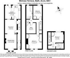 Floorplan Victorian Terrace Pinterest Toilets