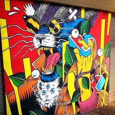 After London a few days ago, Bicicleta Sem Freio also stopped Germany where they were able to work their magic on a new piece in the Schoneberg district of Berlin.