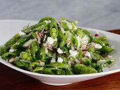 Snap Pea and Radish Salad from CookingChannelTV.com