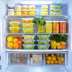 """4 Me gusta, 1 comentarios - Organization & Order (@sindesorden) en Instagram: """"No os encanta la organización de este frigorífico? Así nos encanta tomar vegetales! . Ten…"""""""