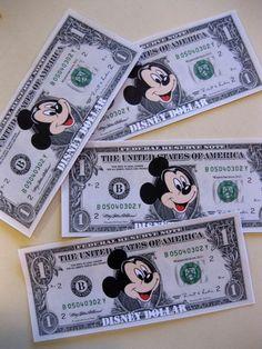 disney dollars   save for your disney trip teachmama.com