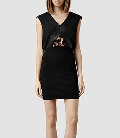 ALLSAINTS: Women's Dresses - Knitted, Silk, Slip & Jersey Styles