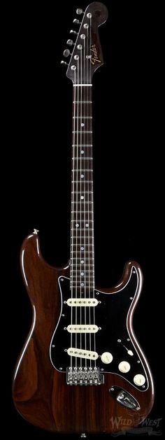 "Vintage FENDER ""Stratocaster"" Solid-Body Electric Guitar in Rosewood. Guitare Fender Stratocaster, Stratocaster Guitar, Fender Guitars, Gretsch, Rickenbacker Bass, Epiphone, Acoustic Guitars, Guitar Tips, Guitar Art"