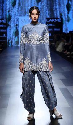 SVA - Lakme Fashion Week SR17 - Look 10Source: Lakme Fashion Week Website