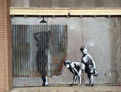 Top 38 des images de Dismaland, le parc d'attraction de Banksy comme si vous y étiez